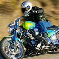 пробное вождение мотоцикла
