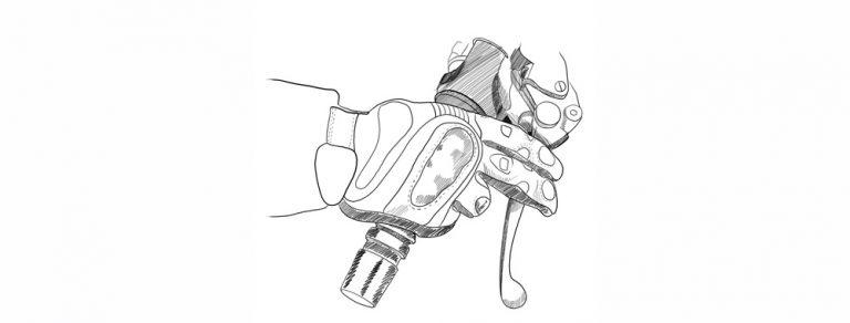 Как правильно держать газ на мотоцикле
