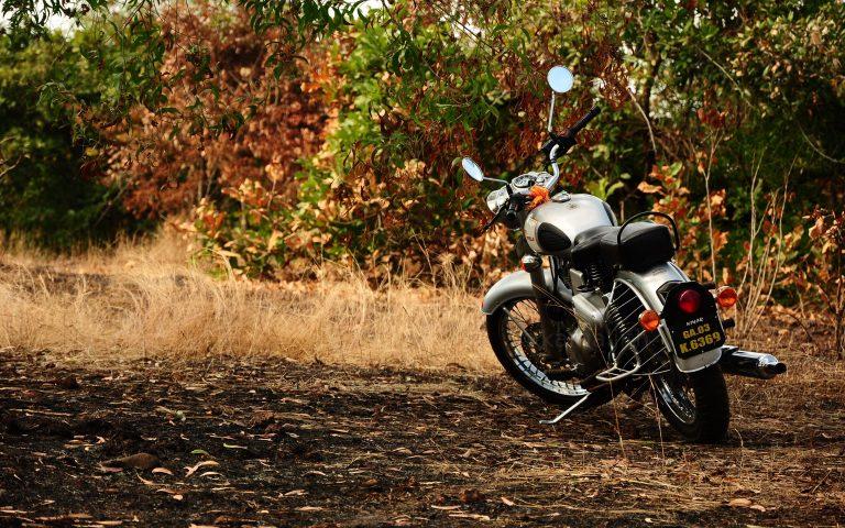подготовка мотоцикла к осени