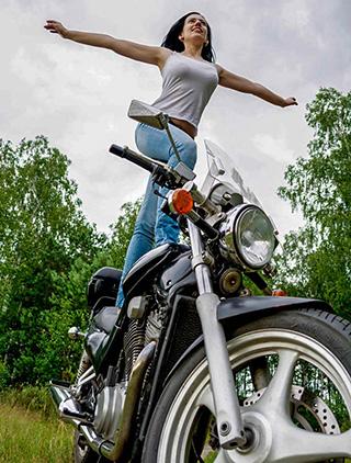 какой мотоцикл купить девушке