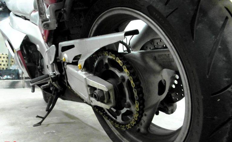 Уход за цепью мотоцикла
